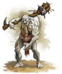 Ilustração de Ogros
