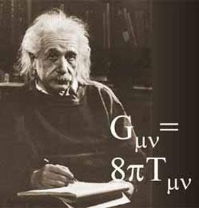 Foto de Albert Einstein, teoria da relatividade