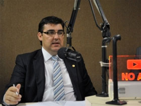 Foto do presidente do INSS, Mauro Hauschild