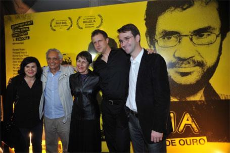 Foto da abertura do 44º Festival de Brasília do Cinema Brasileiro, de Wladimir Carvalho.