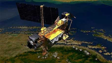 Foto do satélite UARS, da Nasa, que vai cair na Terra