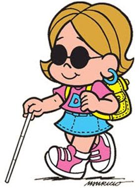 Ilustração cegueira infantil