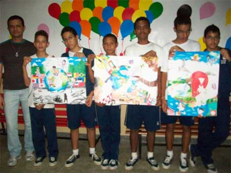 Foto 1 - Cartaz da Paz - Bradesco