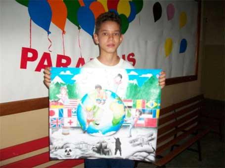 Foto 4  - Cartaz da Paz - Bradesco