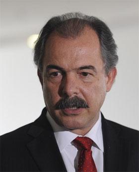 Foto do ministro Aloisio Mercadante