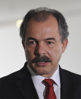 Foto do ministro Aloisio Mercadante