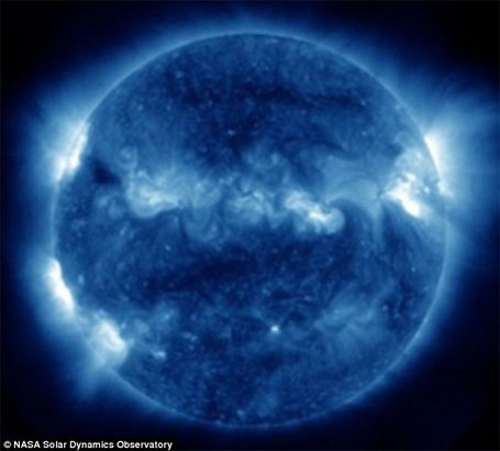 foto da Nasa Imagem do sol 4