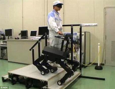 Imagem do robô-cão para guiar cegos