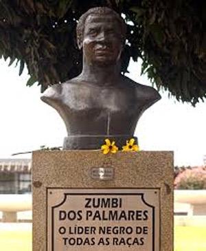 Consciência negra - busto de Zumbi dos Palmares