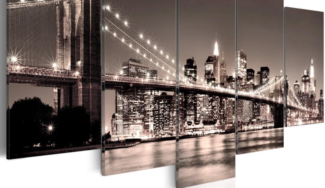 Obrazy nowoczesne mosty