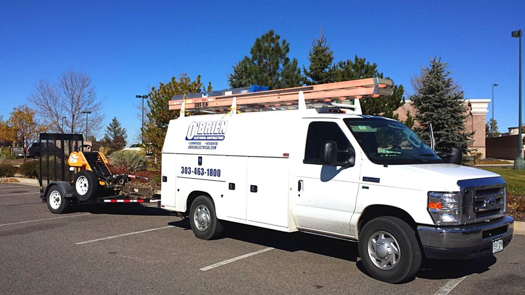 O'Brien Electrical Contractors Truck Denver Colorado Aurora Electrical Services
