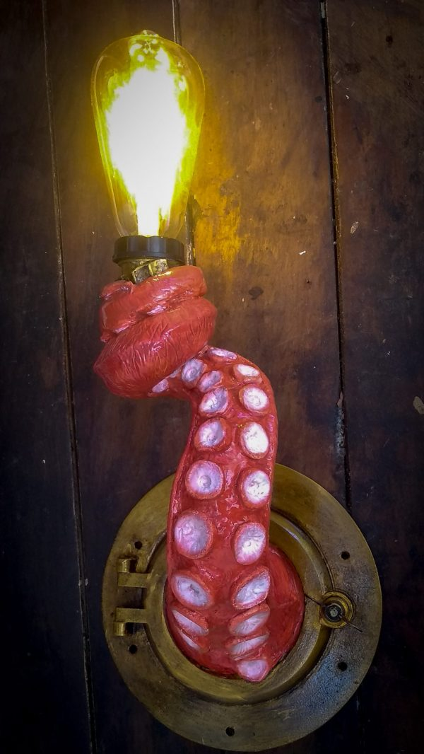 Tentáculo luminária led
