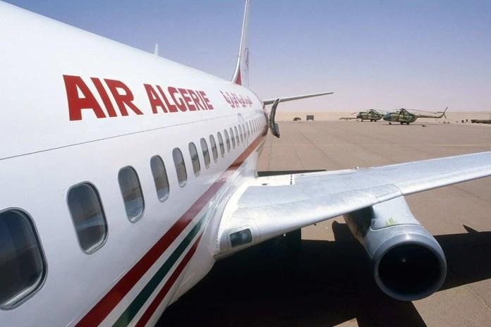 Photo d'un avion de la compagnie aérienne Air Algérie