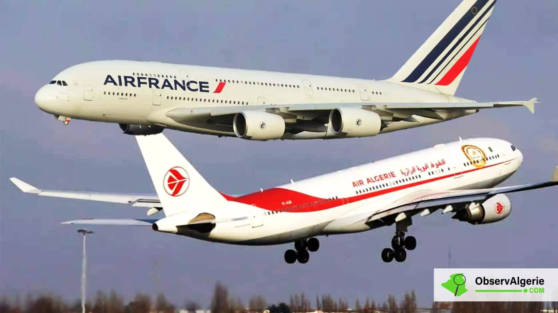 Transport aérien : Les accusations d'Air Algérie contre Air France