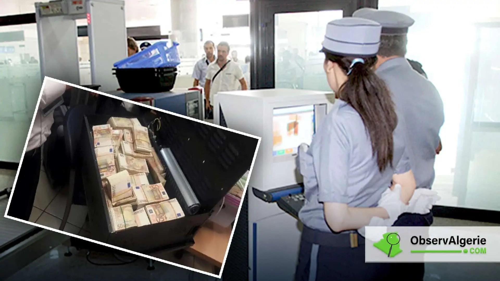 Alger : Trois ans de prison pour tentative de transfert de devises