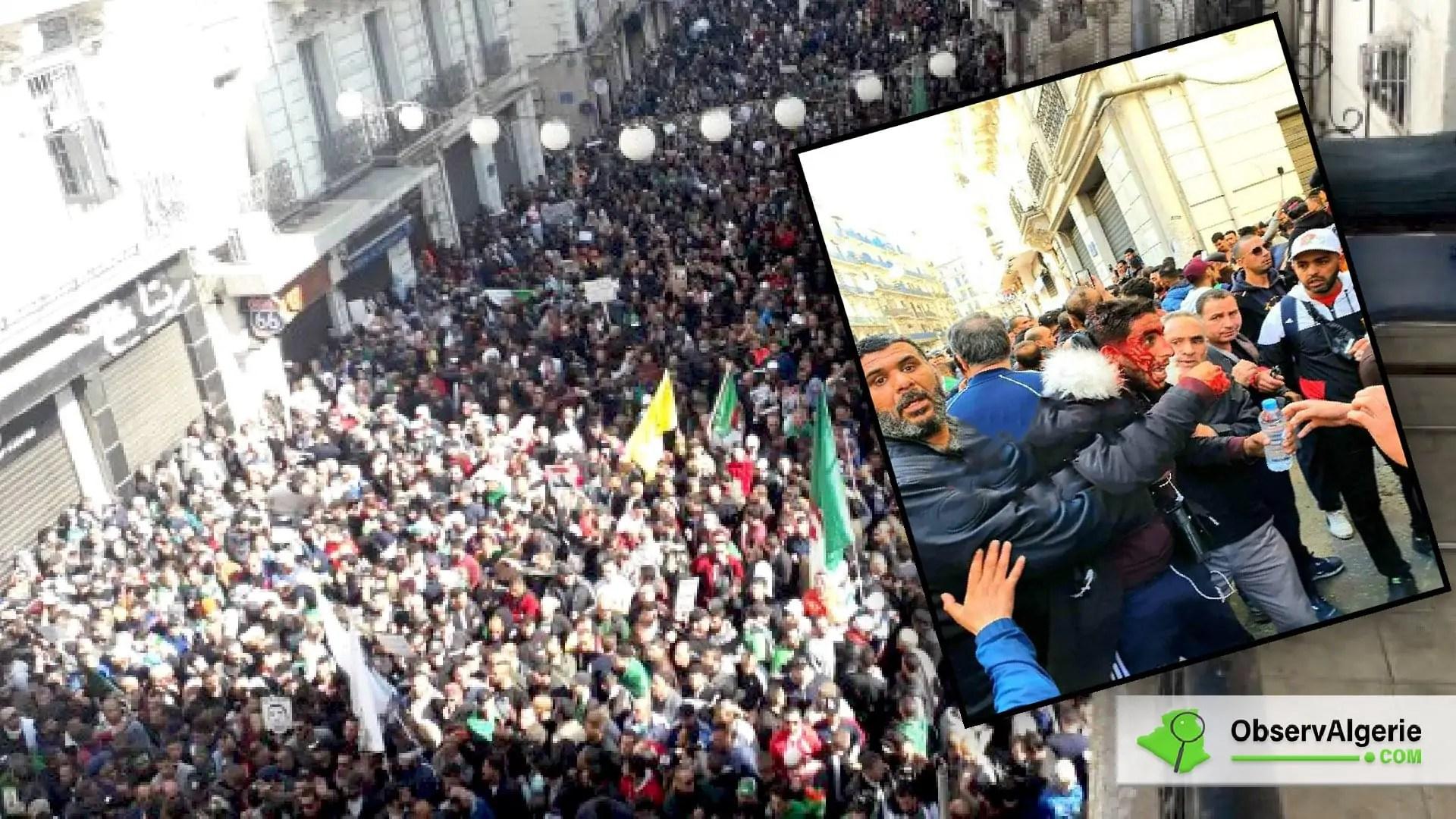 Anniversaire du Hirak : Les manifestants en direction d'El Mouradia réprimés (Vidéo)