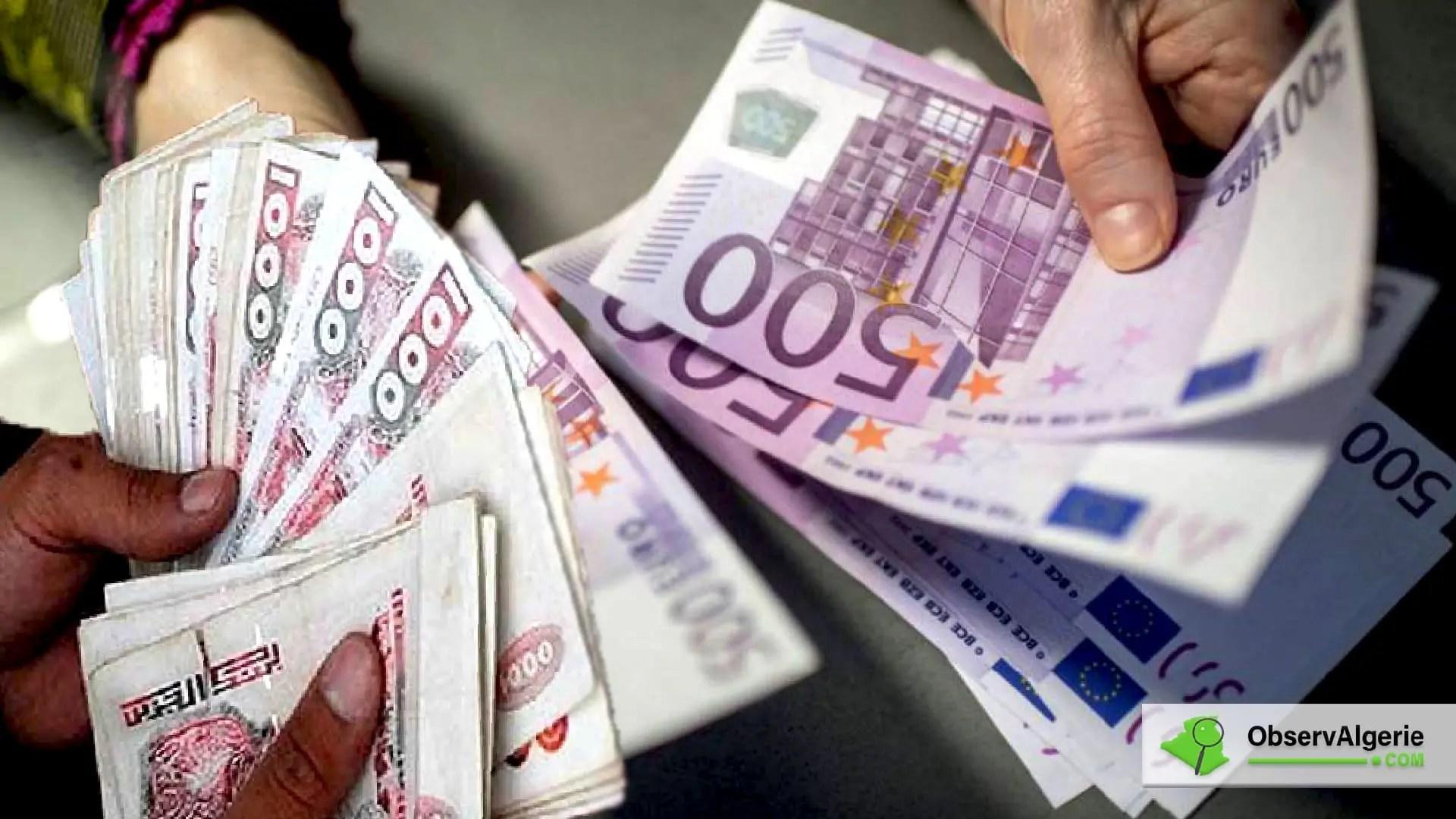 Le marché noir émerge sur Internet, l'euro continue sa chute libre