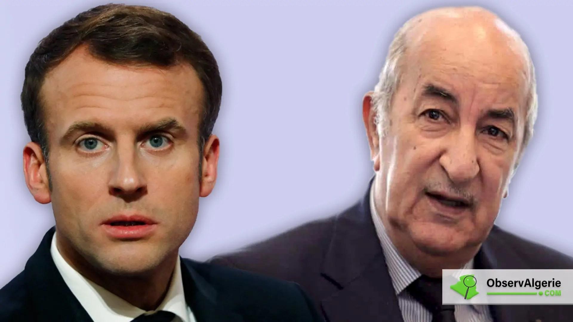 Tebboune-Macron : Après les accusations, la déclaration d'amour