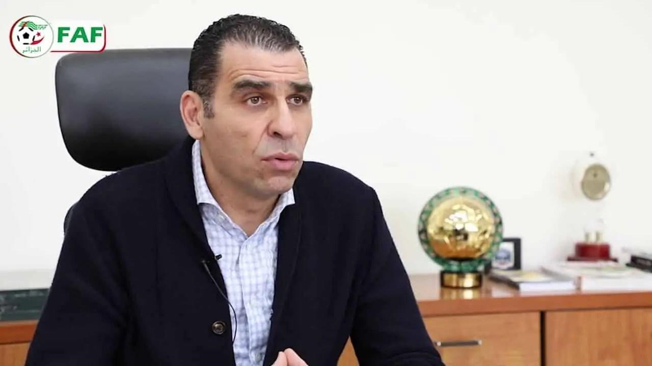 Équipe d'Algérie : Kheïreddine Zetchi s'exprime sur l'arrivée du Marocain Abdeslam Ouaddou