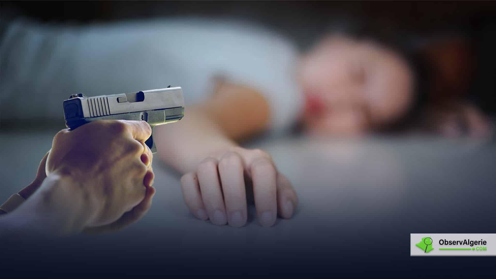 Algérie : Un policier tue sa femme par plusieurs coups de feu pendant le confinement