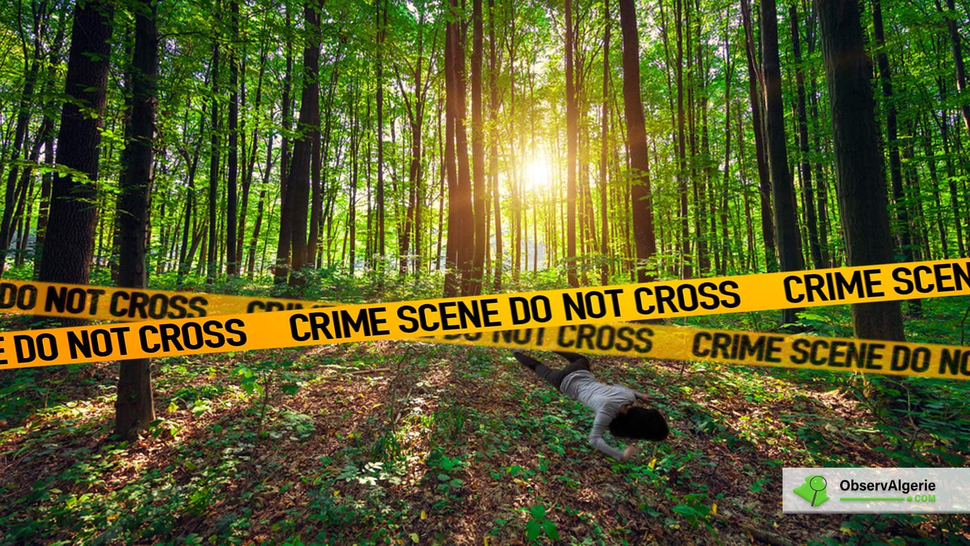 Féminicide en Algérie : Une femme retrouvée morte dans une forêt