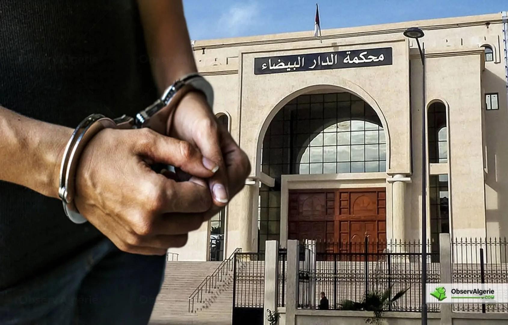 Un homme condamné à 20 ans de prison après avoir égorgé sa femme, à Alger
