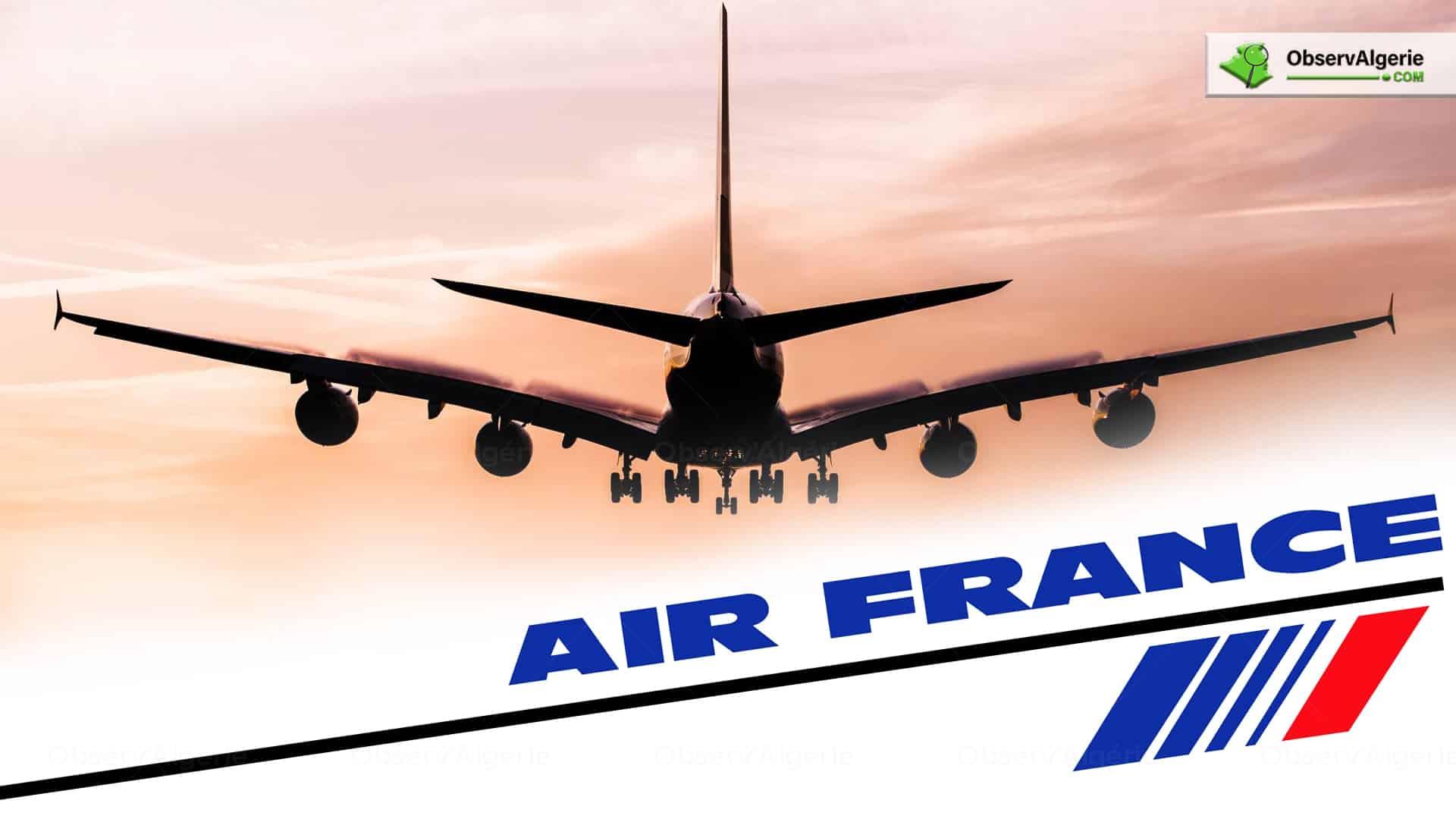 Date de la reprise des vols internationaux : Voici les prévisions d'Air France - Observ'Algérie - Algérie Actualité