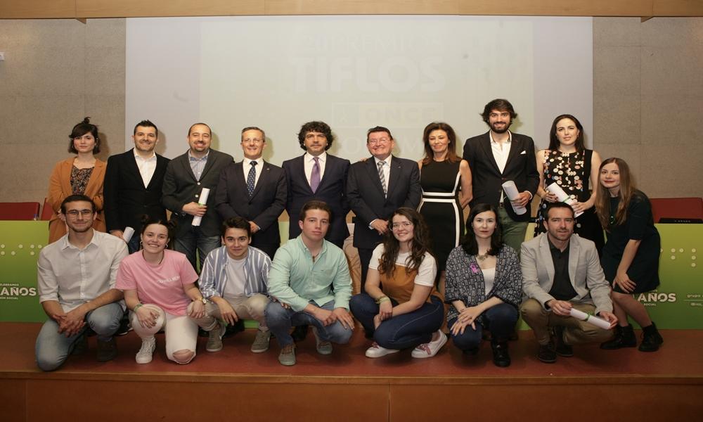 La ONCE celebra los XX Premios Tiflos de Periodismo