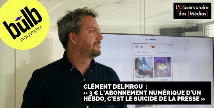 Clément Delpirou co-gérant Libération