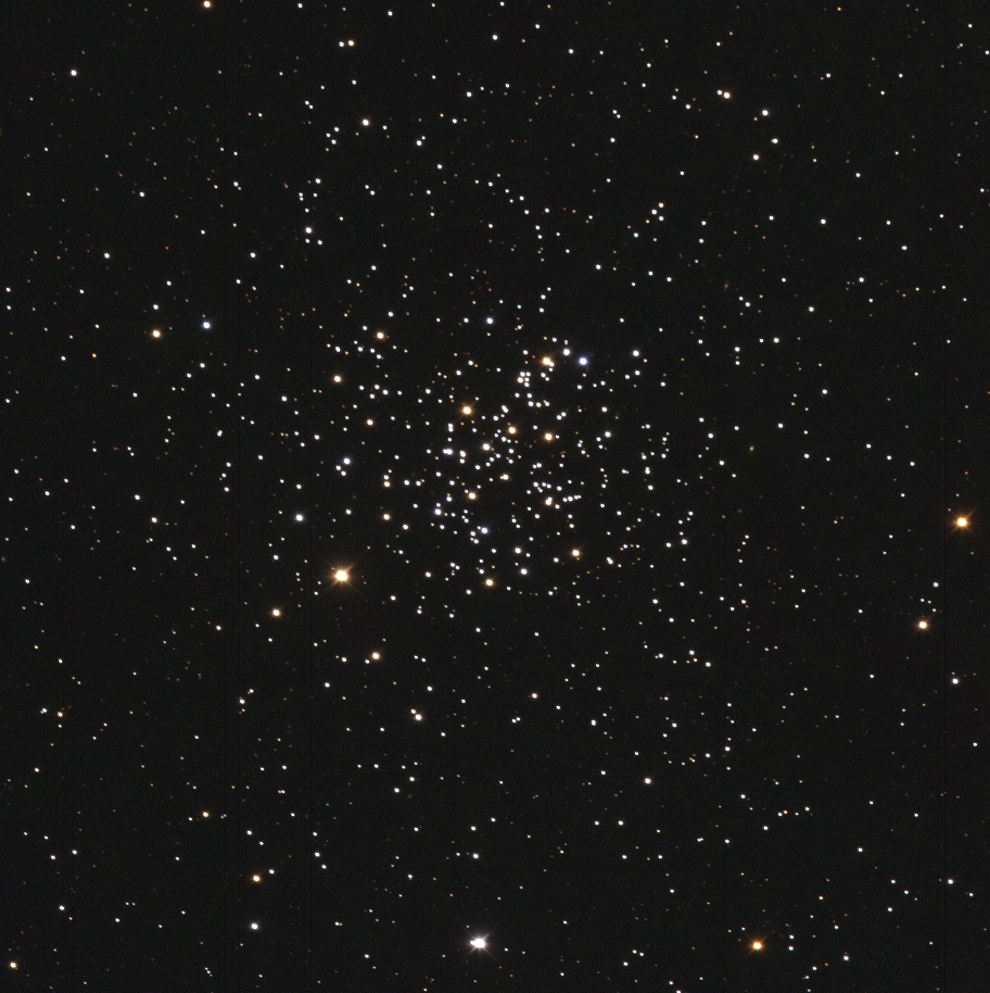 hight resolution of true color image of m67 open cluster obtained on 2012 mar 15 with 60 cm f 3 3 deltagraph telescope and astrodon bvrc photometric filters