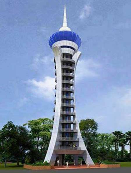 Watch Tower Foreshadows A Great Prospect For Tourism In Bhola