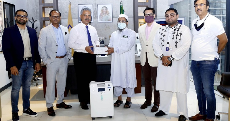 BGMEA continues supporting Covid dedicated hospitals