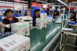 China's factory gate prices hit 13-year high in August