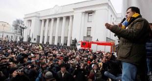 Mihail Saakaşvili | foto Vladimir Shtanko / Anadolu Agency