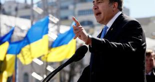 Mihail Saakaşvili   foto REUTERS/Gleb Garanich