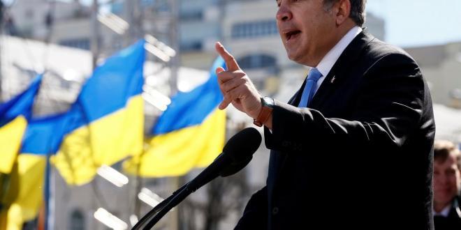 Mihail Saakaşvili | foto REUTERS/Gleb Garanich
