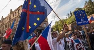 cehia protest anti UE