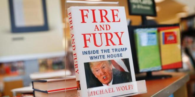 carte fire and fury Donald trump