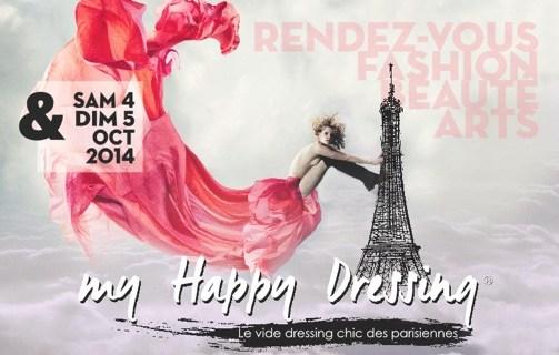 My Happy Dressing les 4 & 5 octobre à Paris