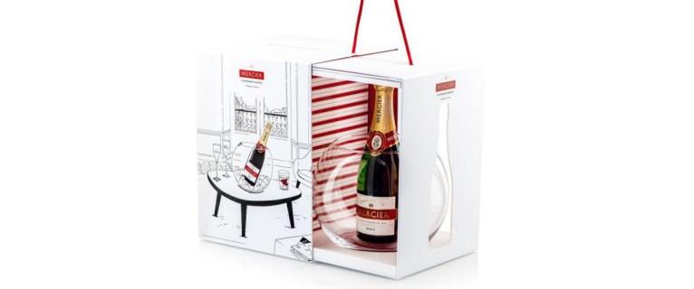 Premier coffret de fin d'année signé Champagne Mercier