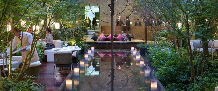 Bar éphémère «Urban Jungle» au Mandarin Oriental Paris