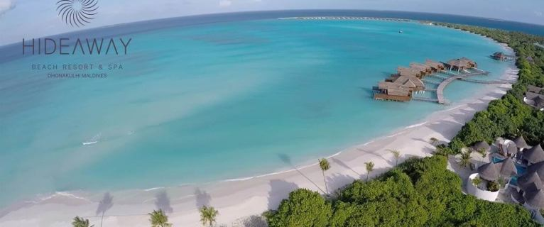 IN THE HEART OF THE MALDIVES WITH THE HIDEAWAY BEACH RESORT & SPA