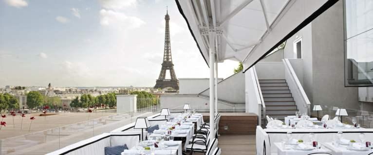 Restaurant Maison Blanche sur les toits de Paris