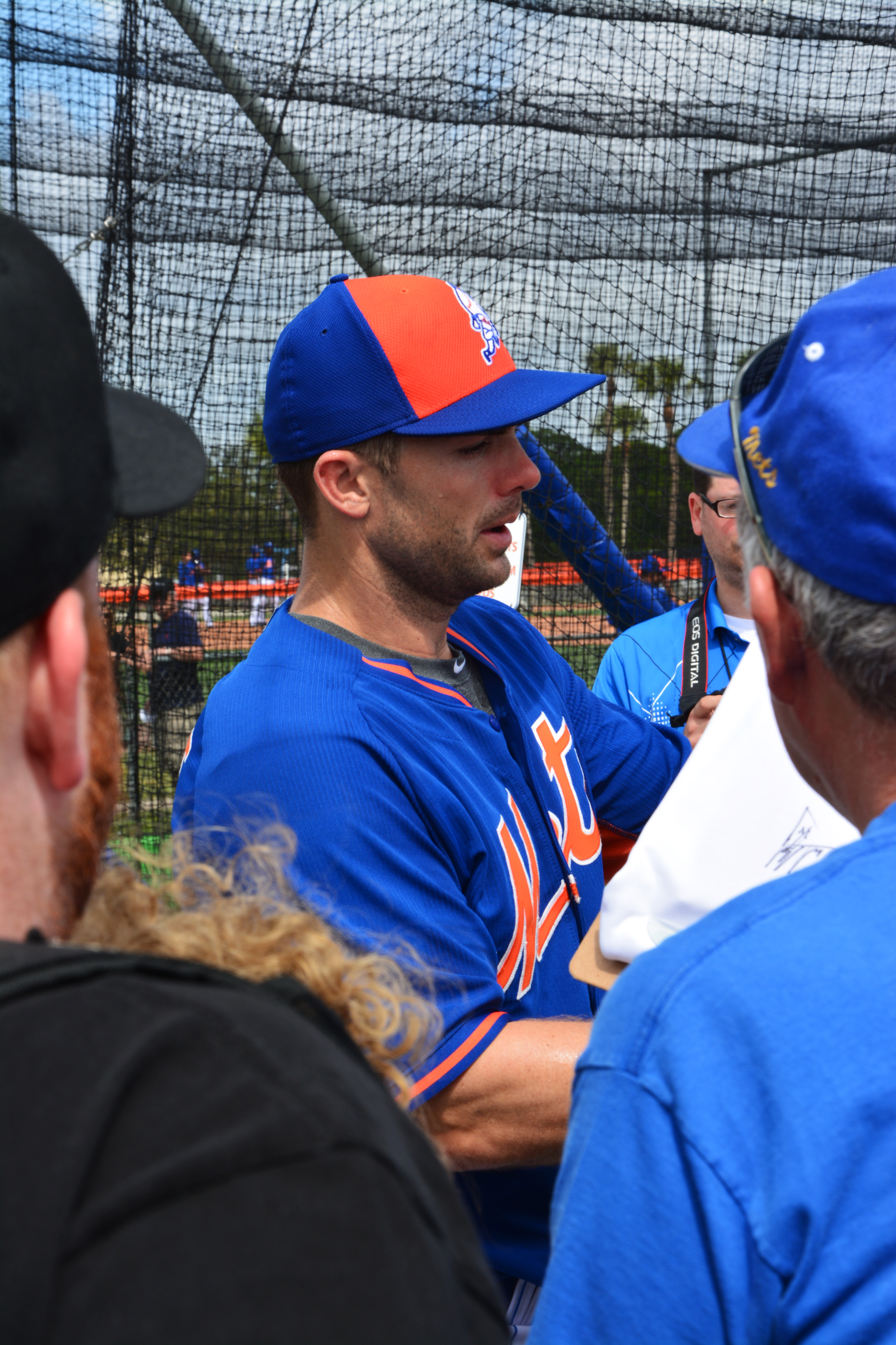 2015 mets spring training day 3 the obsessive neurotic for David wright signature