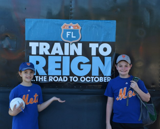 mets - train to reign