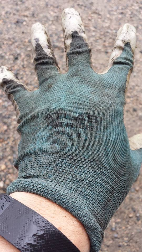 Atlas Nitrile 3701 Gardening Gloves
