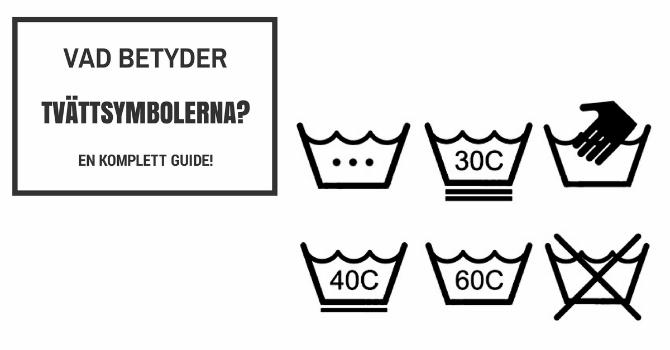 Vad betyder tvättsymbolerna? Är de som hieroglyfer för dig?