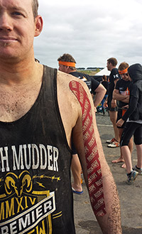 Dan at Tough Mudder
