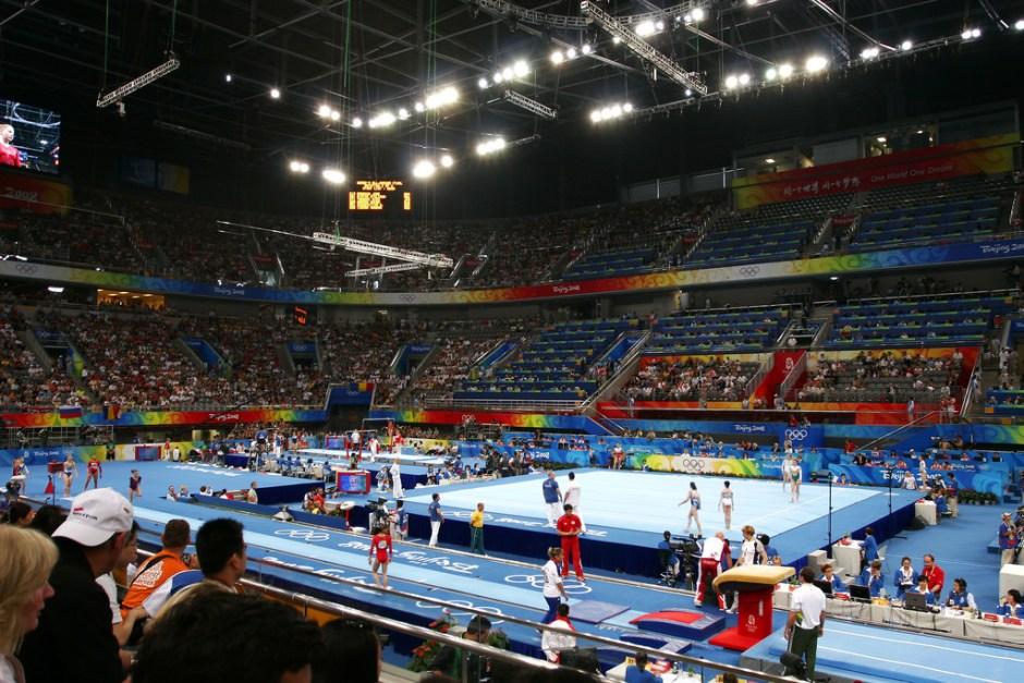Gymnastics meet