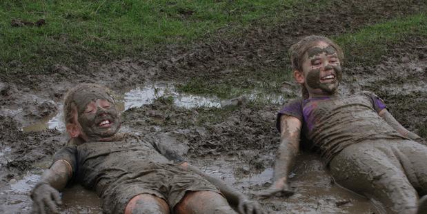 Totara College Mud Run